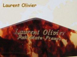 画像4: Laurent Olivier バレッタ / 茶